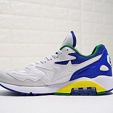 D-BOX Nike Air Max 180 OG 復古 百搭 慢跑鞋 白藍綠黃 男段