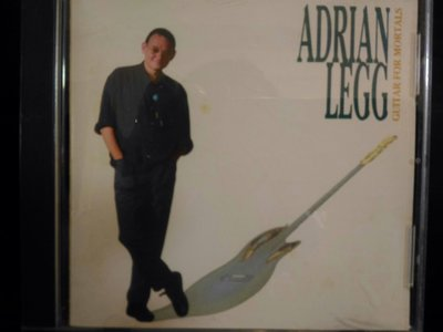 Adrian Legg ~ guitar for mortals , fingers and thumbs , 二張好聽鋼弦吉他 NEW Age ,700元。