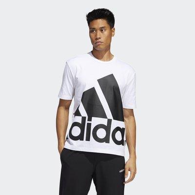 【豬豬老闆】ADIDAS LOGO 短袖 短T 休閒 運動 男款 白 GK3328 黑 GK3325 黃 GK3327