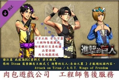 PC版 資料片 肉包遊戲 STEAM 進擊的巨人Attack on Titan-Costume Set-Summer
