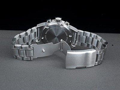 168錶帶配件/22mm平頭實心不鏽鋼製錶帶超值亞米家sea master海馬風格speed master