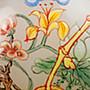臺南城文創  清18-19世紀  琺瑯彩 花開富貴 鼻煙壺 蓋子為天然momo珊瑚 做工精美 款乾隆年製 實品比照片漂亮