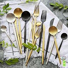 (免運)Leon系列餐具套裝不銹鋼餐具 西餐刀叉四件套 高檔送禮西餐刀叉勺