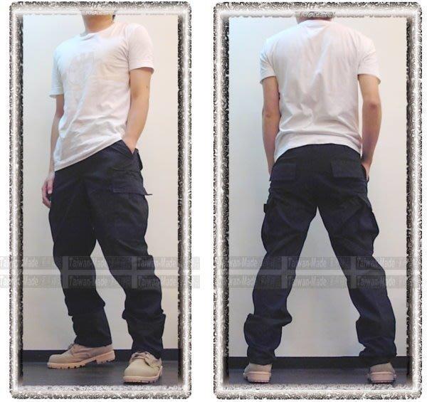 《甲補庫》___深藍色特警戰技長褲(美規版)~~多口袋特戰褲
