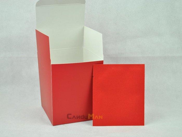 DBC202 紅色 霧面 全空白 掛耳咖啡外盒 質感好 有硬度 可裝10包濾泡式掛耳咖啡袋 20入