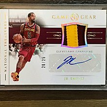 【☆ 職棒野球魂大賣場☆】2018-19National Treasures J.R. Smith auto