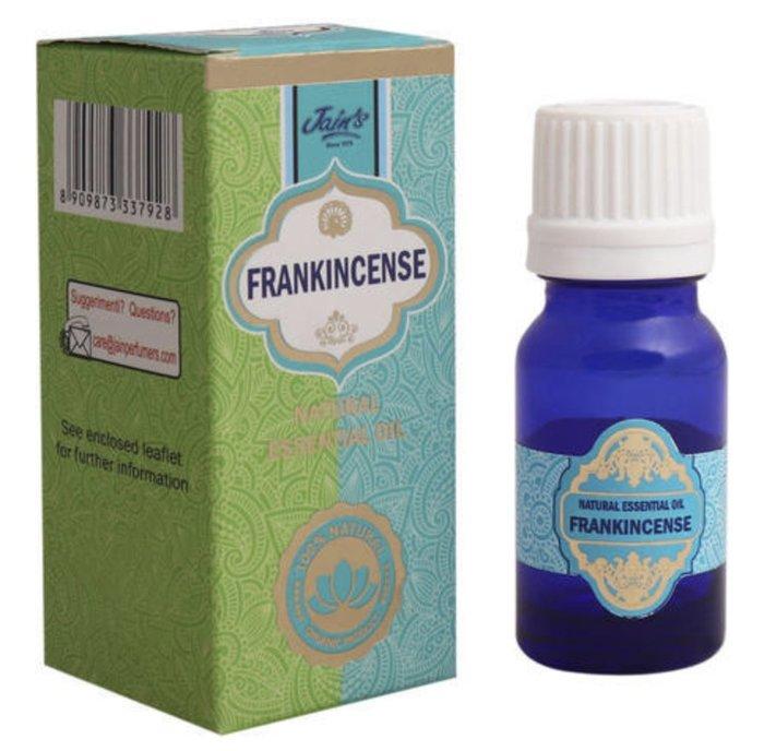 [綺異館]印度精油 乳香 10ml JAIN'S FRANKINCENSE 另售印度皂 印度香