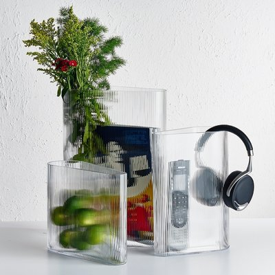 花瓶土耳其進口NUDE MIST VASE迷霧系列水晶玻璃創意家居擺件水培花瓶