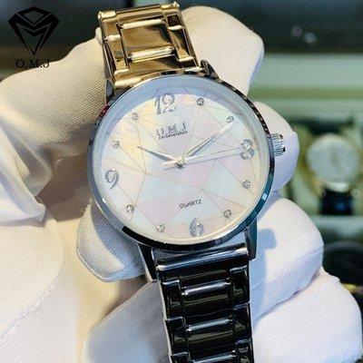 手錶代購OMJ2021新款潮流女士手錶女錶簡約時尚石英錶  G014