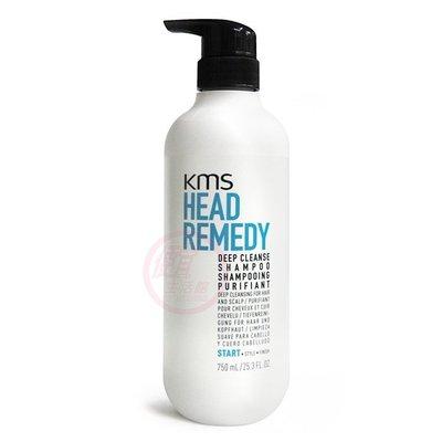 便宜生活館【洗髮精】KMS 深層淨化洗髮精750ml 給予深層潔淨/去油脂專用 全新公司貨 (可超取)