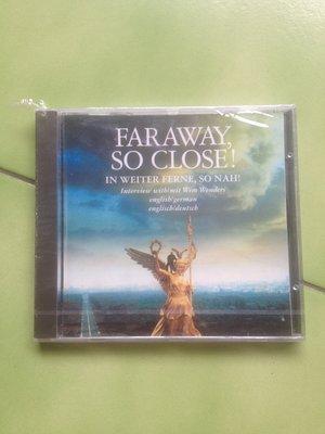 (全新)Faraway, So Close! Interview With Wim Wenders咫尺天涯:訪問溫德斯