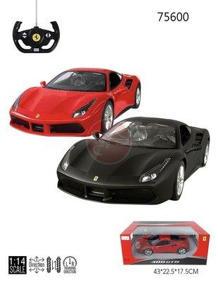 【KENTIM玩具城】1:14全新法拉利Ferrari 488 GTB 原廠授權RASTAR遙控車