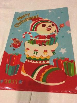 ( )OPEN小醬 可愛 文件夾 資料夾 聖誕限定