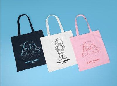 【Hills Select】KAWS:HOLIDAY JAPAN-手提袋 日本站 富士山 限定 托特包 帆布袋 現貨