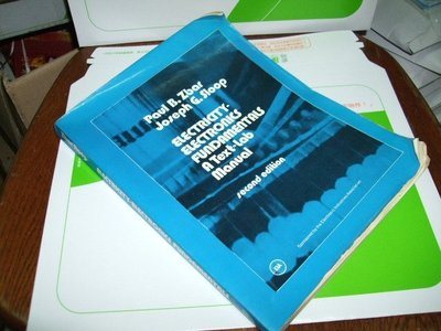 古集二手書x ~Electricity-Electronics 2/e Zbar 中央圖書社 黃斑