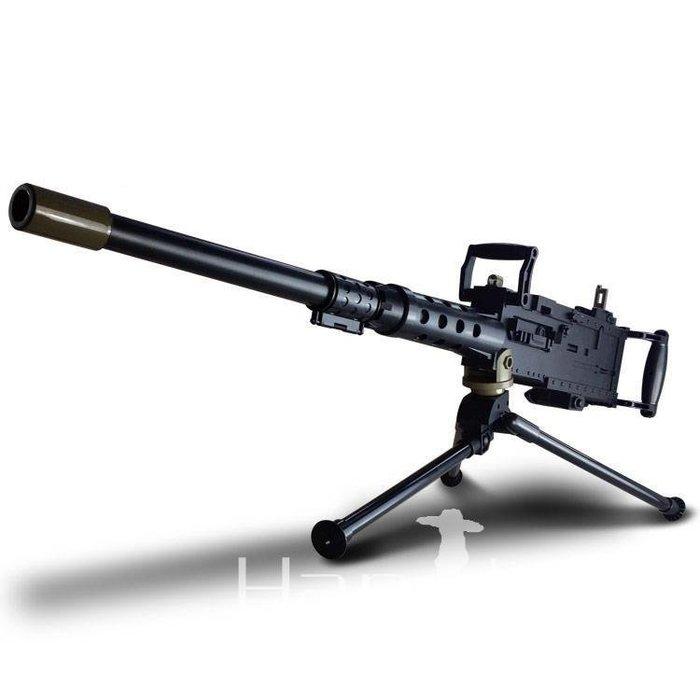 YEAHSHOP 重機槍手動連發非電動玩具槍可發射水晶彈揚Y185