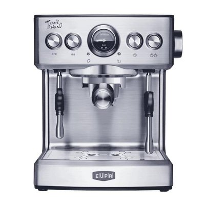 意式咖啡機家用商用全半自動蒸汽式煮咖啡壺220V LX 衣間迷你屋 交換禮物