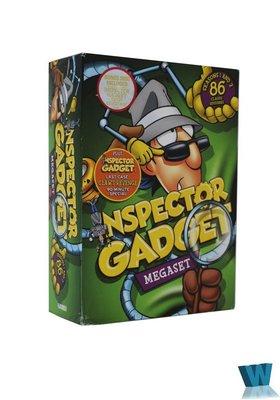 飛馳MART Inspector Gadget 神探加杰特 完整版13DVD純英文原版 動畫片碟片