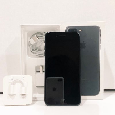 【維修者聯盟】iPhone7 plus 消光黑 128G 8成新  手機 二手機 空機 蘋果二手機 功能正常