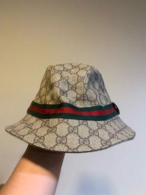 真品GUCCI漁夫帽