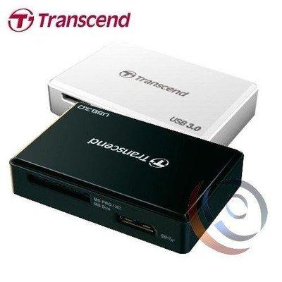 「ㄚ秒市集」Transcend 創見 RDF8 USB3.0多功能記憶卡讀卡機【黑】TS-RDF8K/W
