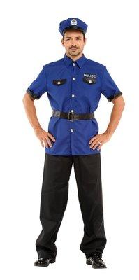 乂世界派對乂萬聖節服裝,萬聖節道具,變裝派對,大人變裝服/成人警察服裝-勇敢男警探服裝