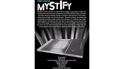 【天天魔法】【1569】故弄玄虛~ Mystify by Vinny Sagoo
