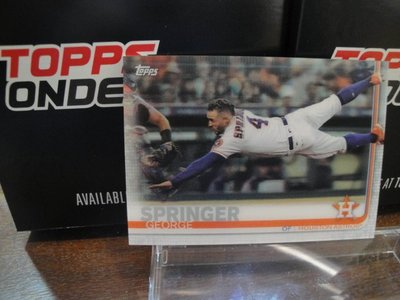 現貨 MLB 2019 TOPPS ON-DEMAND 3D 棒球 球員卡 GEORGE SPRINGER 史普林格