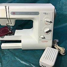 家用縫紉機,日本制車樂美 MYCEL15S型 20種花樣 學習最好的幫手 全廻轉式縫紉機