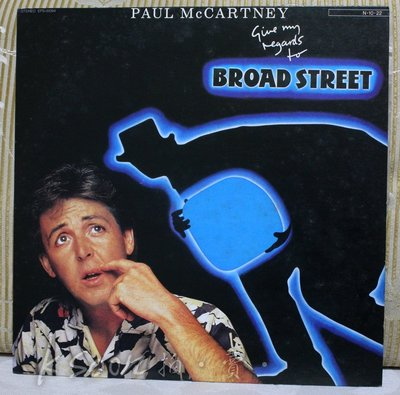 黑膠-PAUL MCCARTNEY-Give My Regards To Broad Street,CHIA HO唱片