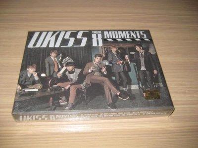 U-KISS 《Moments》CD 8th Mini Album ~ 韓版 韓國進口 第八張迷你專輯