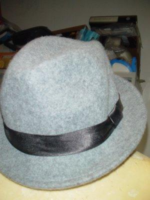 男性精品與服飾 帽子 紳士帽/漁夫帽 NET 新品SIZE 57CM CHINA MADE100%POLYESTER