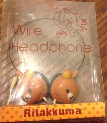 Rilakkuma頭戴式耳機(有線)