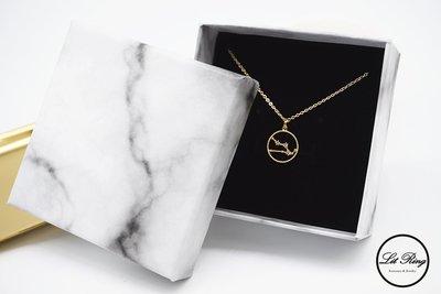 【Lit Ring】簡約大理石紋項鍊飾品包裝盒│項鍊 手鍊 耳環 戒指盒 送禮 禮物盒 飾品盒 珠寶盒 首飾盒 紙盒