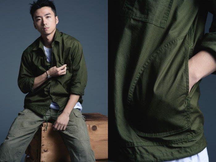 【MASS】2015 A/W Black Flag Combat Shirt Soldat 軍裝襯衫 綠S M L