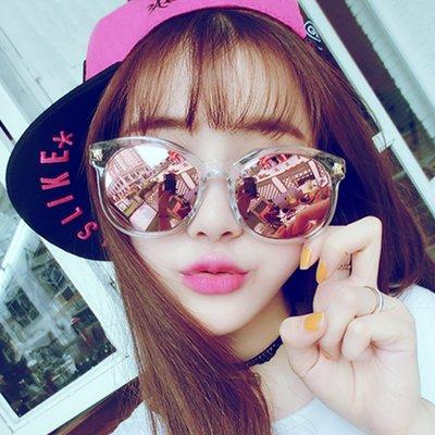 墨鏡 時尚透明金邊太陽眼鏡【O2918】☆雙兒網☆