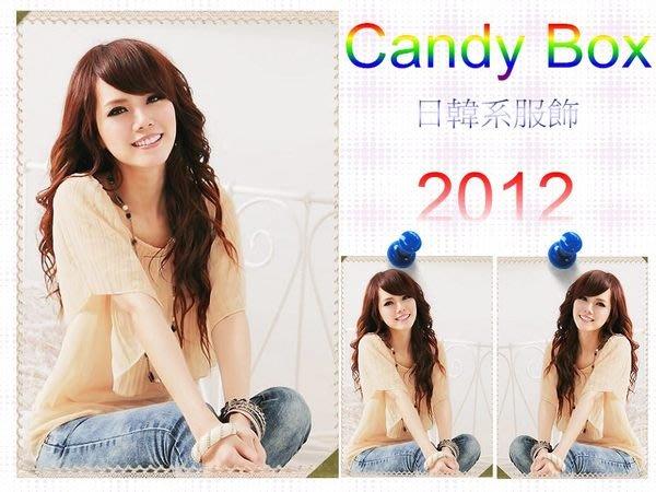 ☆Candy Box☆拼接百摺多層次衫 配腰帶 杏 S2321922