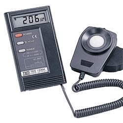 TECPEL 泰菱》TES-1332A  照度計 MIT 可外接記錄器 路克斯 LUX