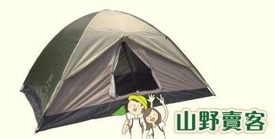 【山野賣客】DJ-861 DJ-605 防水雙門六人蒙古包帳篷帳棚帳蓬