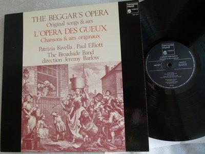 TAS 發燒銘盤!John Gay約翰‧蓋伊:乞丐歌劇Beggar's Opera極珍貴稀有經典演出!1982年法國首版