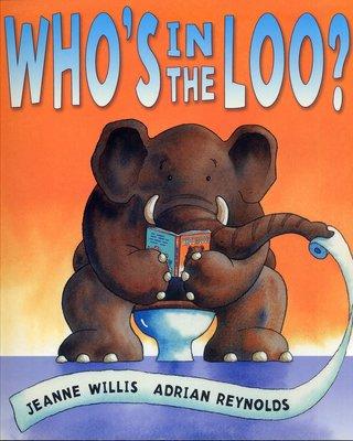 *小貝比的家*WHO'S IN THE LOO ? (誰在廁所裡? )/平裝/3~6歲/幽默 Humor