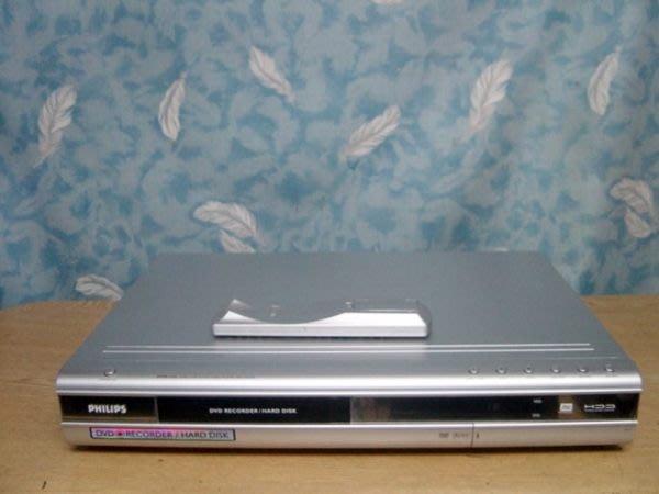【小劉二手家電】PHILIPS 160G硬碟式DVD錄放影機,壞機也可修/抵!