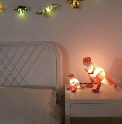 [SECOND LOOK]英國雜貨 19新款 暴龍 迷你恐龍 系列 USB/電池 LED 小夜燈
