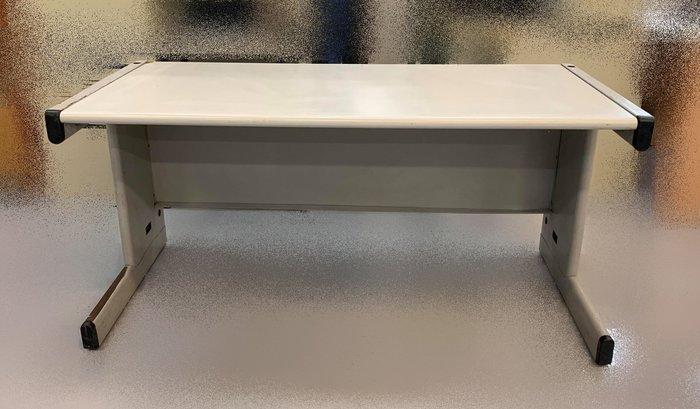 【宏品二手家具賣場】 便宜中古辦公傢俱 C42975*白面灰腳辦公桌* 電腦桌 L型辦公桌 書桌 主管桌 業務桌出清拍賣