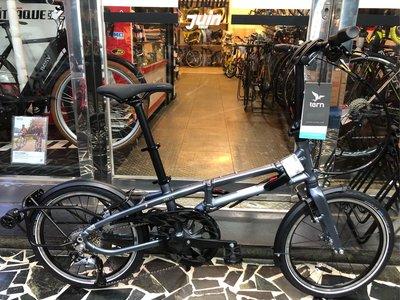 (J.J.Bike) Tern BYB P8 折疊車 外出單手推行超便利 收納空間小 適合身高147-195公分 可分期