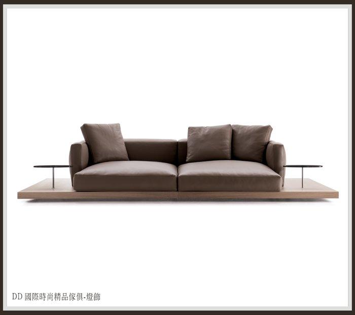 DD 國際時尚傢俱-燈飾 B&B Italia DOCK 2 seater sofa全牛皮沙發 (復刻版)