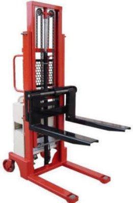 ╭☆優質五金☆╮2.5M半電動堆高機(荷重1000KG)拖板車/托板車/升降台車/堆高機