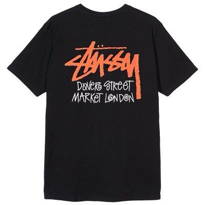 【P+C】STUSSY DOVER STREET MARKET LONDON TEE 短袖T恤 素T 短T 男女 黑白