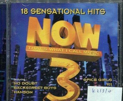 *真音樂* 18 SENSATIONAL HITS / NOW 3 二手 K21310