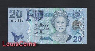 【Louis Coins】B1483-FIJI-ND (2007)斐濟紙幣,20 Dollars